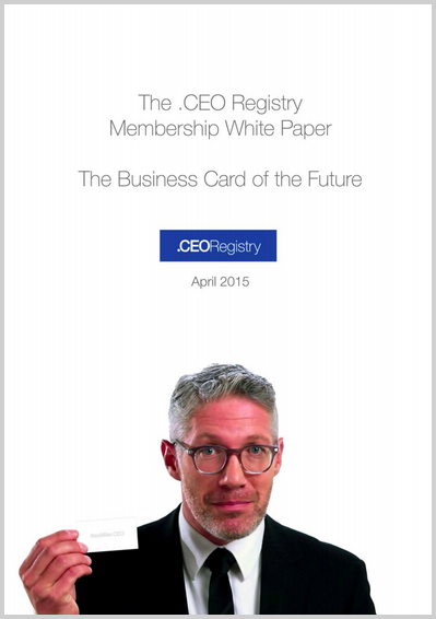 .CEO Registry White Paper