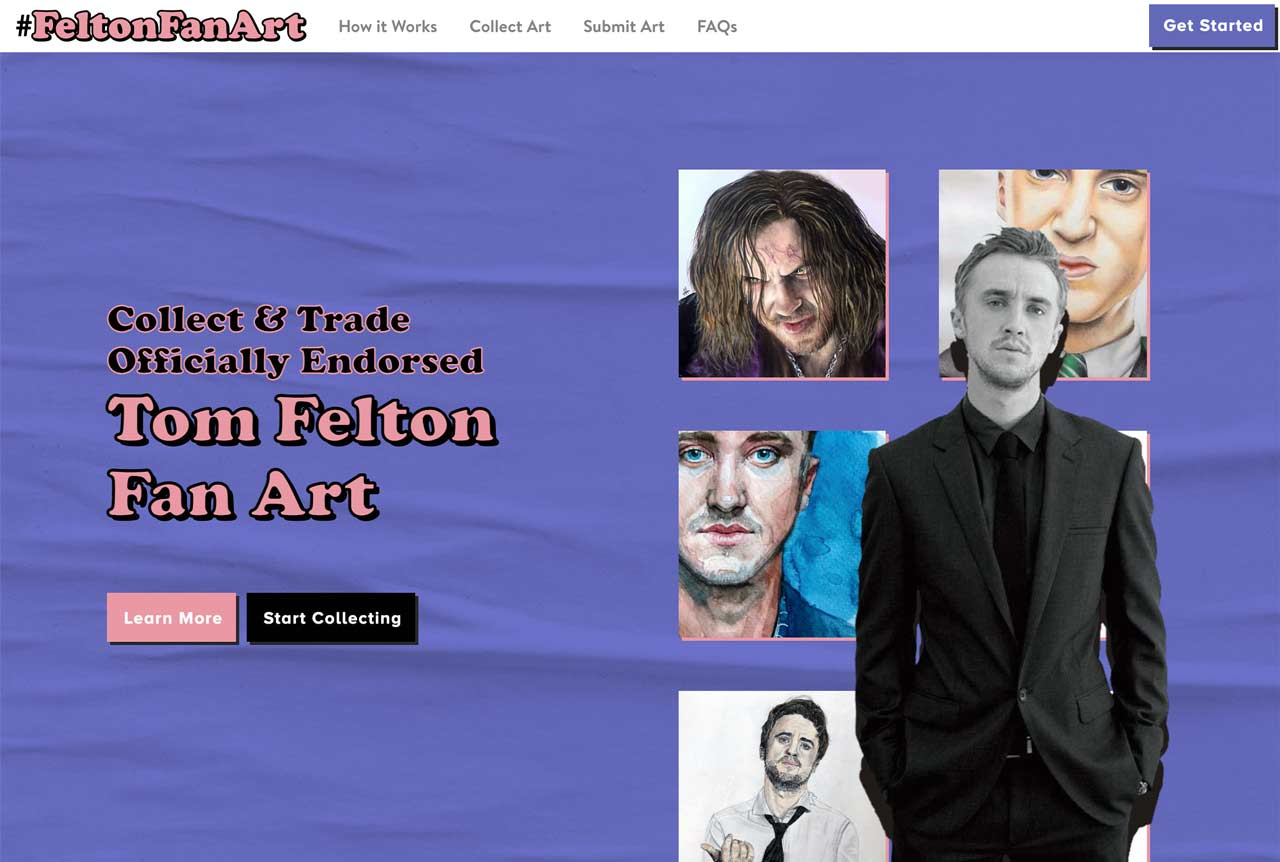Actor and Musician Tom Felton