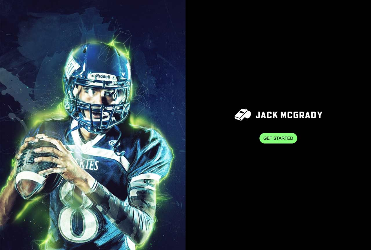 Professional Athlete Jack McGrady