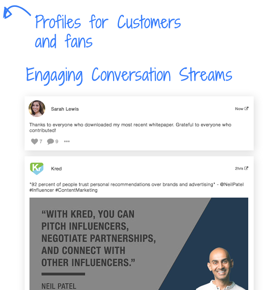 Engaging Conversation Streams