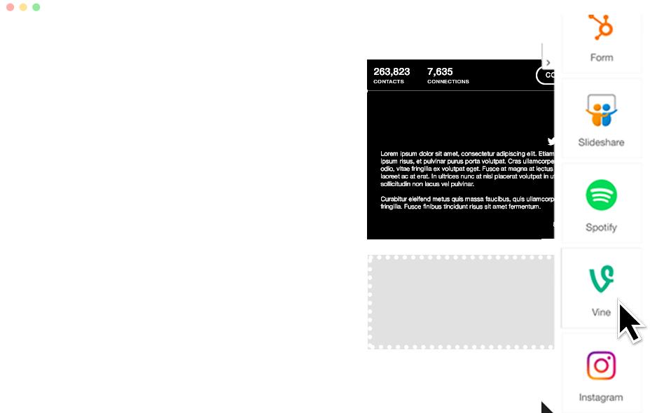 Activate a customizable Profile on a Custom Domain